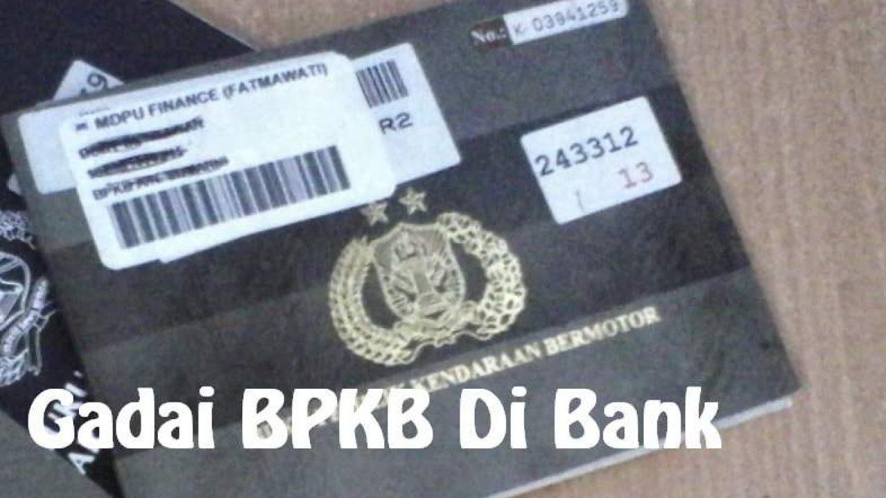bank bri dengan jaminan bpkb