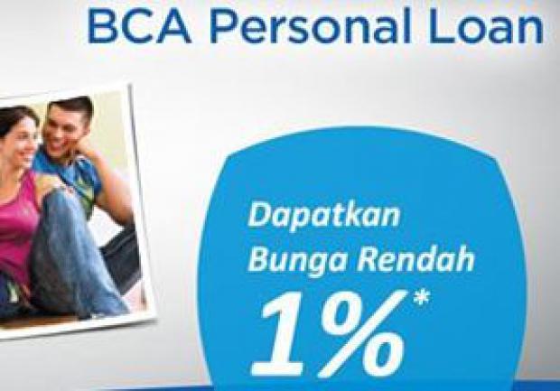 Kredit Tanpa Agunan BCA Personal Loan