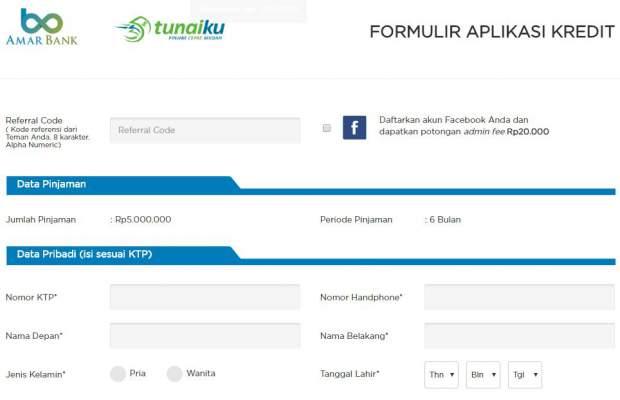 Pinjam Uang 5 Juta Tanpa Jaminan Secara Online Di Tunaiku