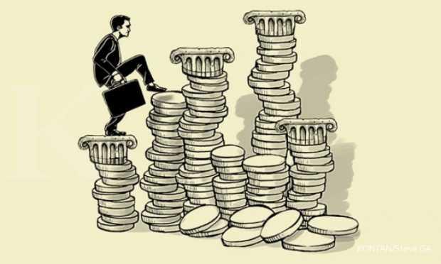 Rumus matematika mencari dan cara menghitung persentase bunga pinjaman bank per tahun dan per bulan manual maupun di excel