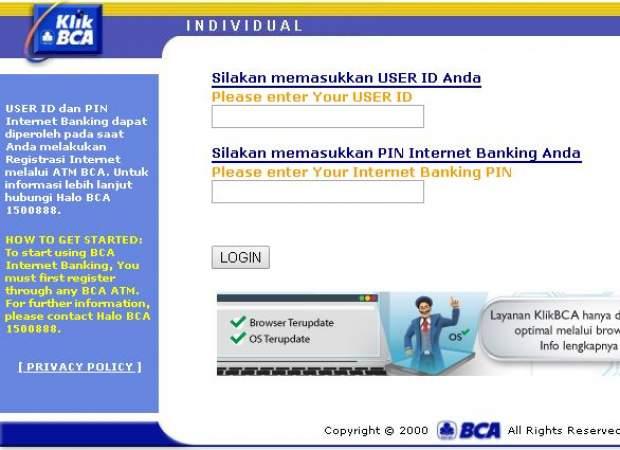 Cara Daftar Internet Banking BCA lewat Hp dan ATM