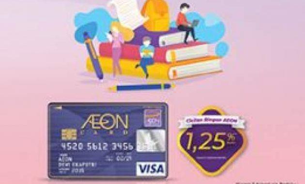 Berapa Limit Kartu Kredit AEON