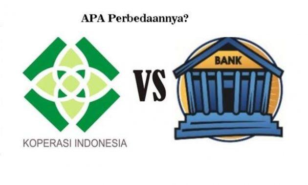 Perbedaan bank dan koperasi