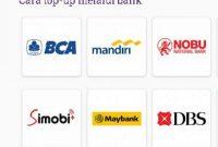 Perbandingan Minimal Top up OVO di Alfamart Indomart Driver BCA BRI BNI Mandiri