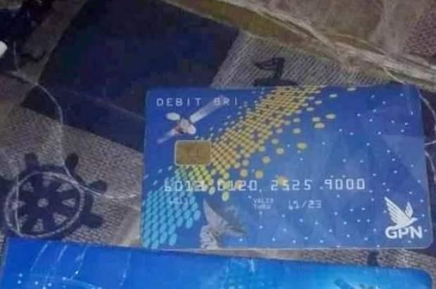 mengurus ATM terblokir diwakilkan