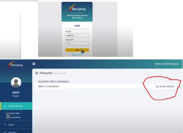 Cek Saldo Bank Jateng Online, SMS via Hp - Panduan Bank