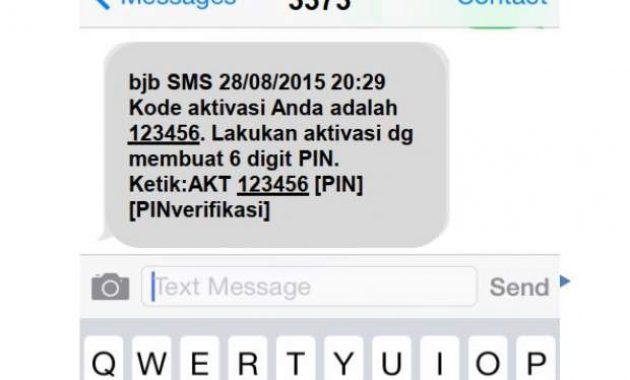 daftar BJB SMS