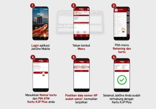 Cek Saldo Kjp Di Hp Lewat Jakone Mobile Panduan Bank