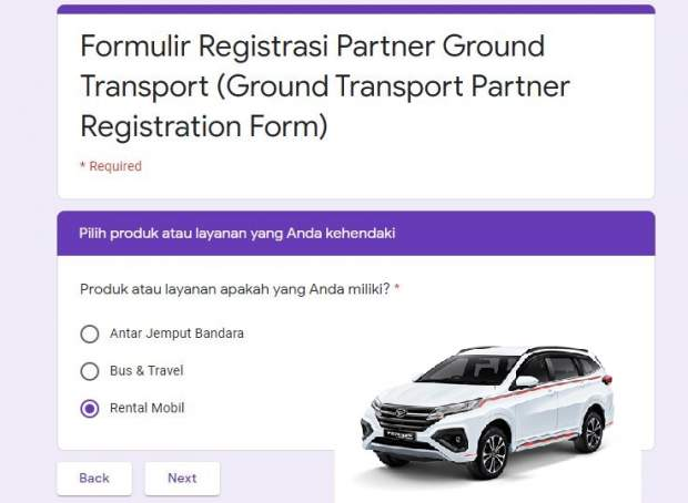 cara kerja sama dengan traveloka rental mobil