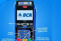 kode fungtion mesin EDC BCA MANDIRI, BRI BNI